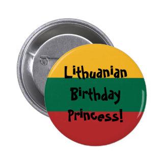 Bandera lituana de encargo pin
