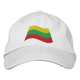 Bandera lituana gorro bordado