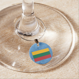 Bandera lituana identificador de copa