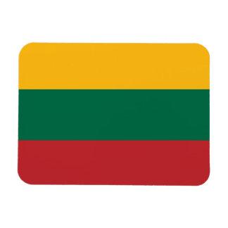 Bandera lituana imán
