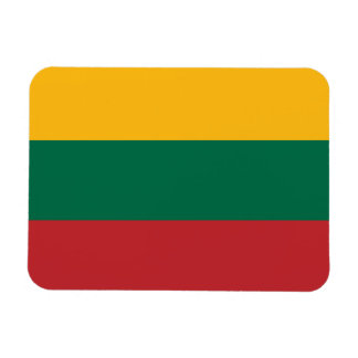 Bandera lituana iman flexible