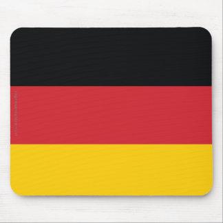 Bandera llana de Alemania Alfombrillas De Raton