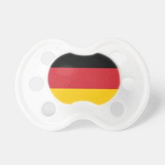 Bandera llana de Alemania Chupete De Bebé