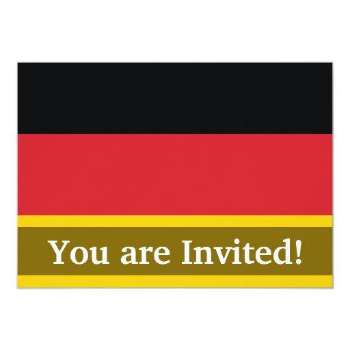 Bandera llana de Alemania Comunicados Personales