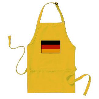 Bandera llana de Alemania Delantal