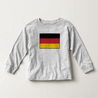 Bandera llana de Alemania Playera De Bebé