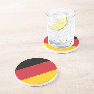 Bandera llana de Alemania Posavasos Cerveza
