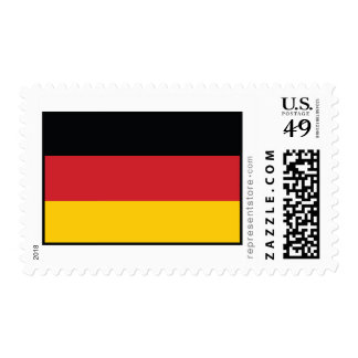 Bandera llana de Alemania Sellos Postales