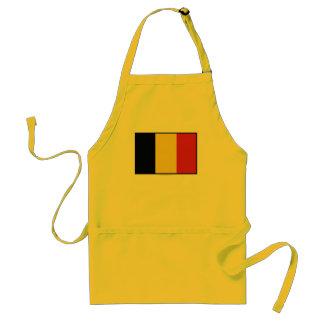 Bandera llana de Bélgica Delantales