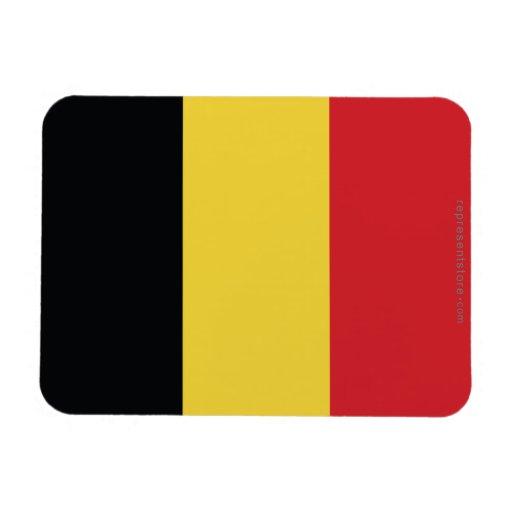 Bandera llana de Bélgica Imán