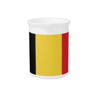 Bandera llana de Bélgica Jarrón