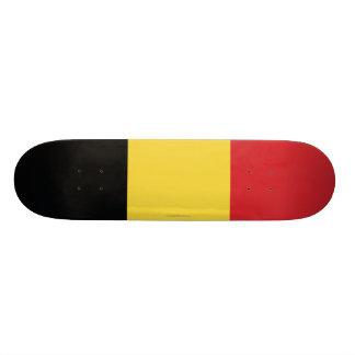 Bandera llana de Bélgica Tabla De Skate