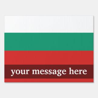 Bandera llana de Bulgaria Cartel