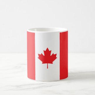 Bandera llana de Canadá Taza Clásica