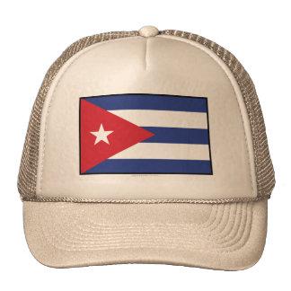 Bandera llana de Cuba Gorros