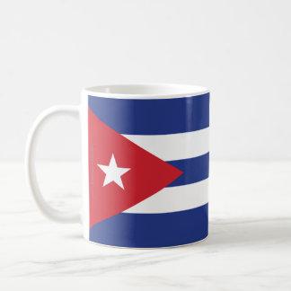 Bandera llana de Cuba Taza De Café