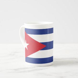 Bandera llana de Cuba Tazas De China