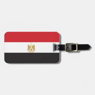 Bandera llana de Egipto Etiquetas Para Equipaje