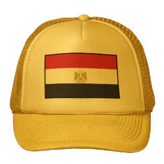 Bandera llana de Egipto Gorras