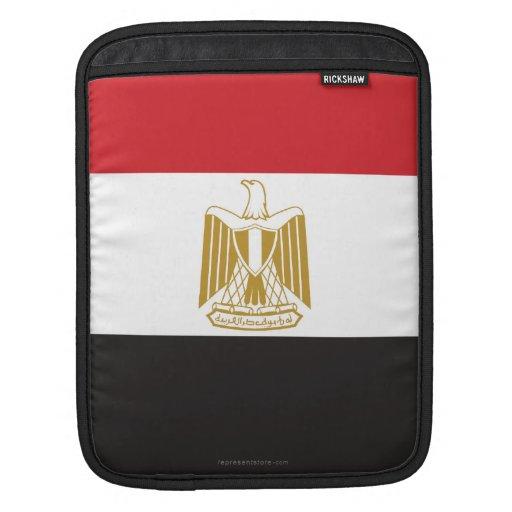 Bandera llana de Egipto Mangas De iPad