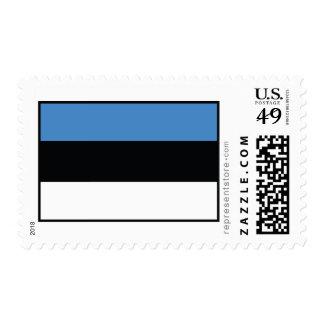 Bandera llana de Estonia Sello