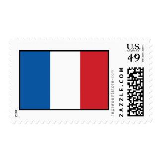 Bandera llana de Francia Sello
