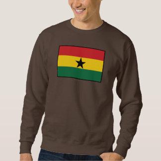 Bandera llana de Ghana Sudadera