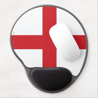 Bandera llana de Inglaterra Alfombrilla Con Gel