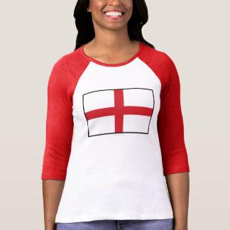 Bandera llana de Inglaterra Playera