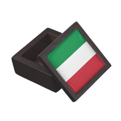 Bandera llana de Italia Cajas De Regalo De Calidad