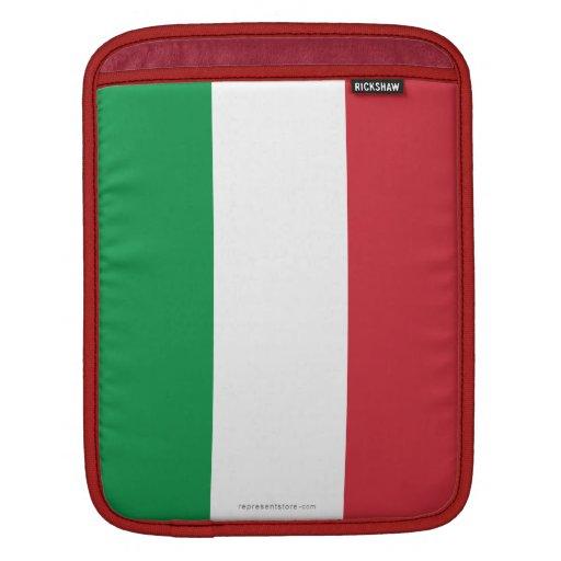 Bandera llana de Italia Mangas De iPad