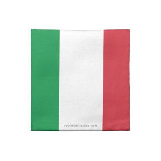 Bandera llana de Italia Servilletas