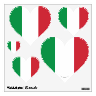 Bandera llana de Italia Vinilo
