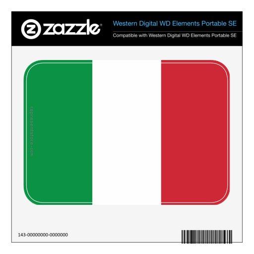 Bandera llana de Italia WD Elements SE Skin