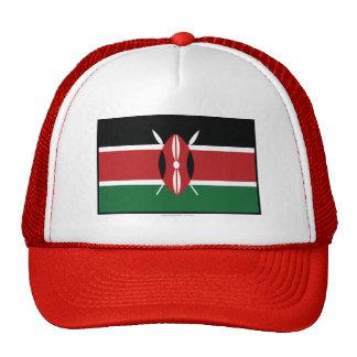 Bandera llana de Kenia Gorra