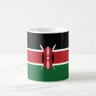 Bandera llana de Kenia Taza De Café