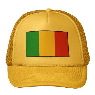 Bandera llana de Malí Gorras De Camionero