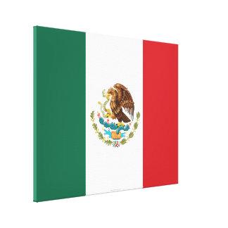 Bandera llana de México Lona Estirada Galerias