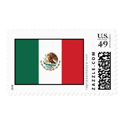 Bandera llana de México Sello
