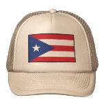 Bandera llana de Puerto Rico Gorras
