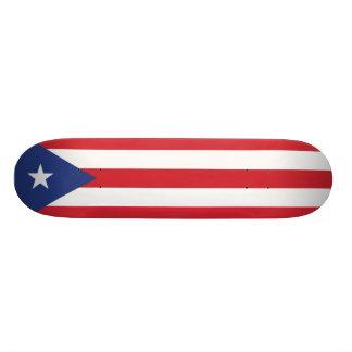 Bandera llana de Puerto Rico Patin