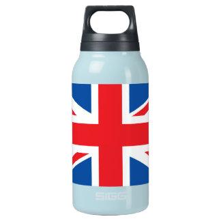 Bandera llana de Reino Unido Botella Isotérmica De Agua