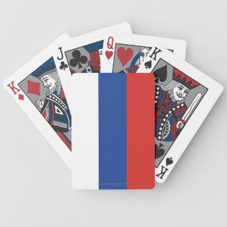 Bandera llana de Rusia Cartas De Juego