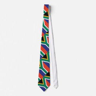 Bandera llana de Suráfrica Corbata