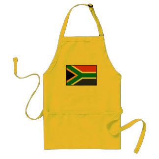 Bandera llana de Suráfrica Delantal