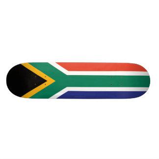 """Bandera llana de Suráfrica Patineta 7 1/4"""""""