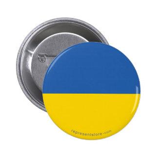 Bandera llana de Ucrania Pin