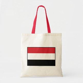 Bandera llana de Yemen Bolsas De Mano