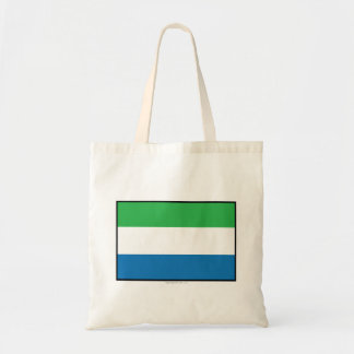 Bandera llana del Sierra Leone Bolsas