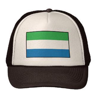 Bandera llana del Sierra Leone Gorra